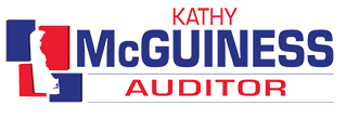 Kathy McGuiness for State Auditor Logo